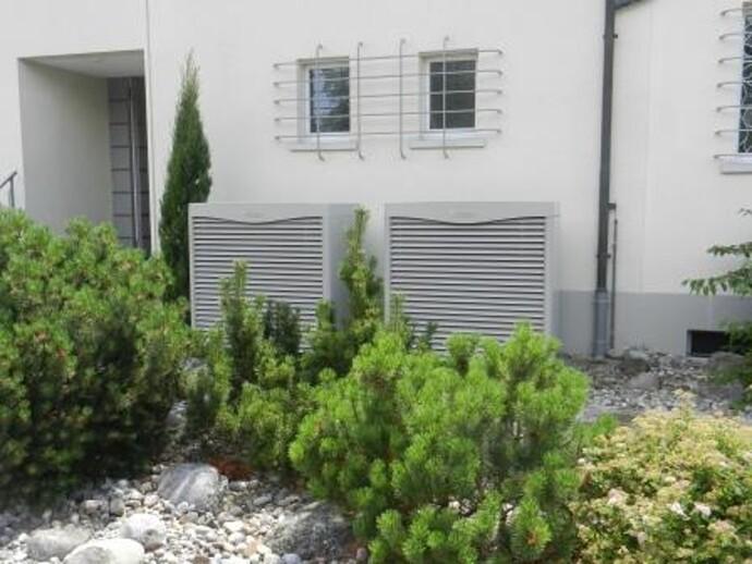 Pompe à chaleur air/eau flexoTHERM exclusive avec les unités extérieures aroCOLLECT.