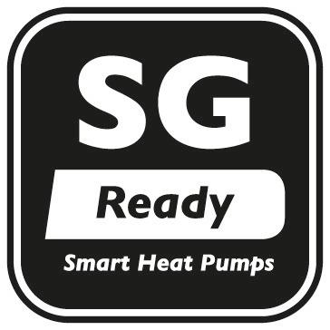 Das SG Ready-Label wird an Wärmepumpen-Baureihen verliehen, deren Regelungstechnik die Einbindung der einzelnen Wärmepumpe in ein intelligentes Stromnetz (engl. smart grid = SG) ermöglicht.