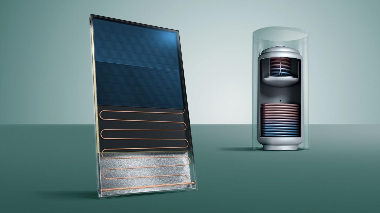 Solarthermie - Heizung um Solarthermieanlage erweitern | Vaillant