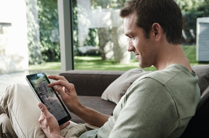 Steuerung der Vaillant multiMATIC App via Smartphone